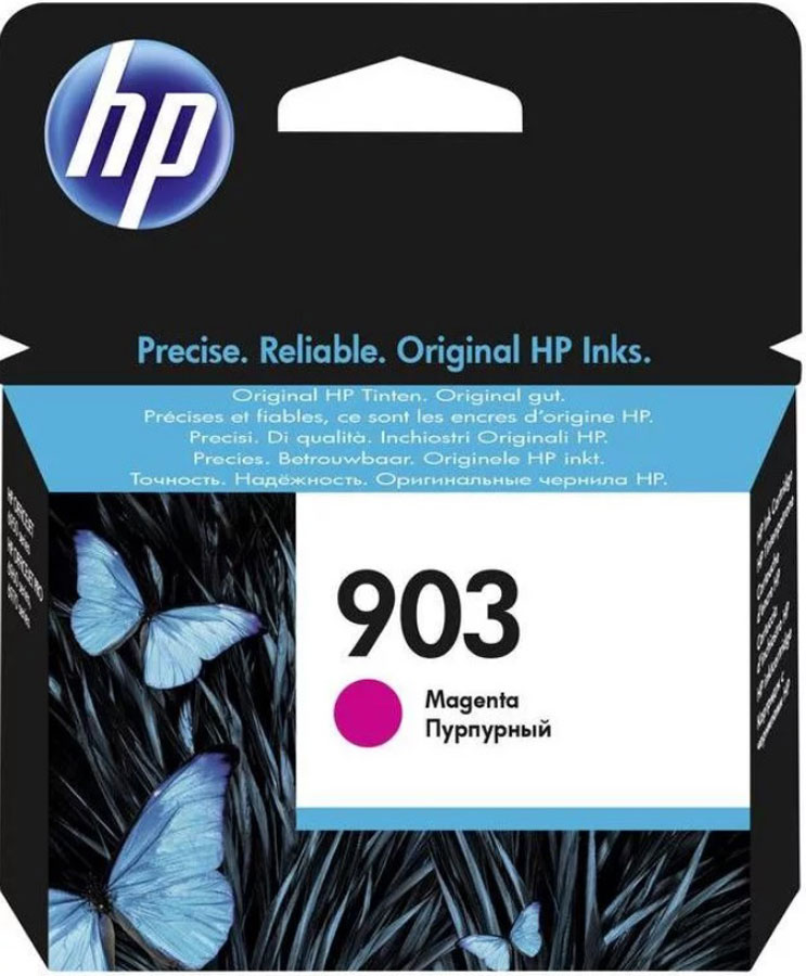 HP 903 (T6L91AE), Magenta картридж для HP OfficeJet 6950 / OfficeJet Pro 6960/6970 чернила inksystem для фотопечати на hp officejet 7215 фоточернила