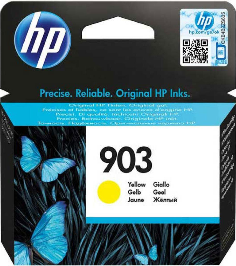 HP 903 (T6L95AE), Yellow картридж для HP OfficeJet 6950 / OfficeJet Pro 6960/6970