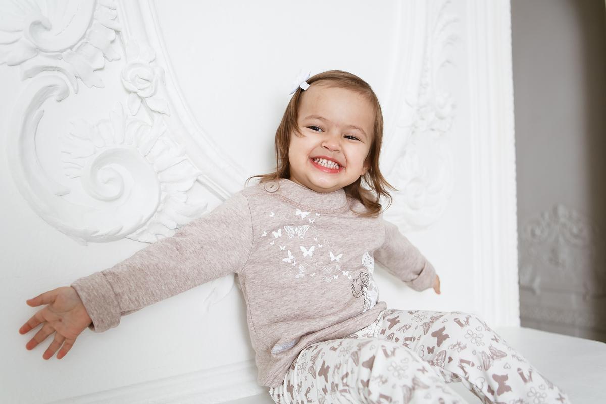 Кофта для девочки Lucky Child Дюймовочка, цвет: бежевый. 37-18ф. Размер 62/68 кофта томилочка мода тм кофточка