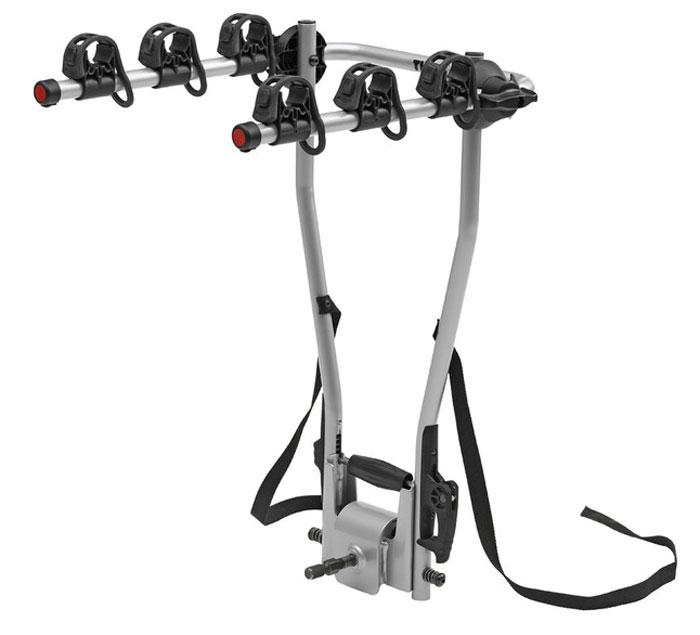 Велобагажник на фаркоп Thule HangOn, для 3 велосипедов, с функцией наклона. 972 вилка амортизационная suntour гидравлическая для велосипедов 26 ход 100 120мм sf14 xcr32 rl 26
