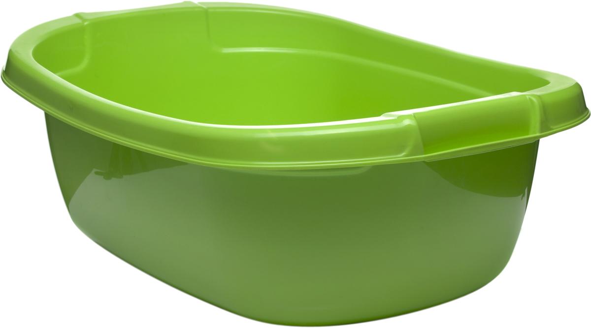 Таз StarPlast, овальный, цвет: зеленый, 25 л таз овальный пластик 15л альтернатива м275