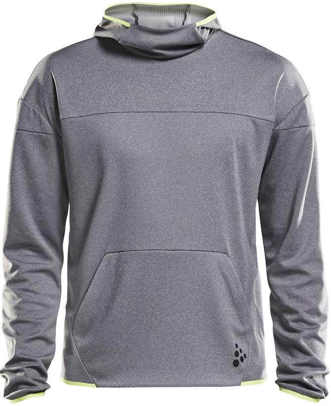 Худи мужское Craft Deft, цвет: серый. 1905967/950809. Размер L (50) толстовка с мишкой худи где