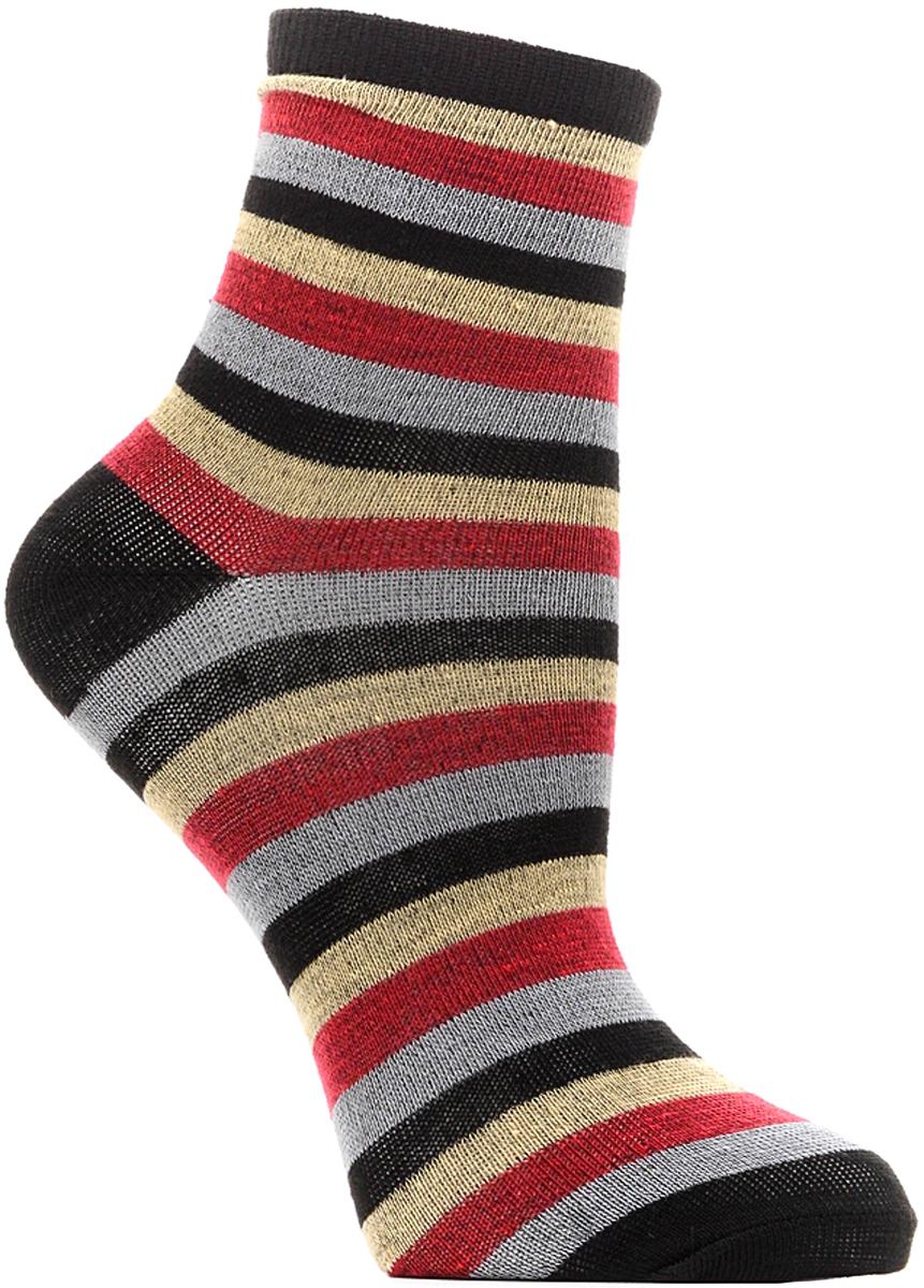 Носки детские Bio-Textiles, цвет: черный. T112. Размер 34/40
