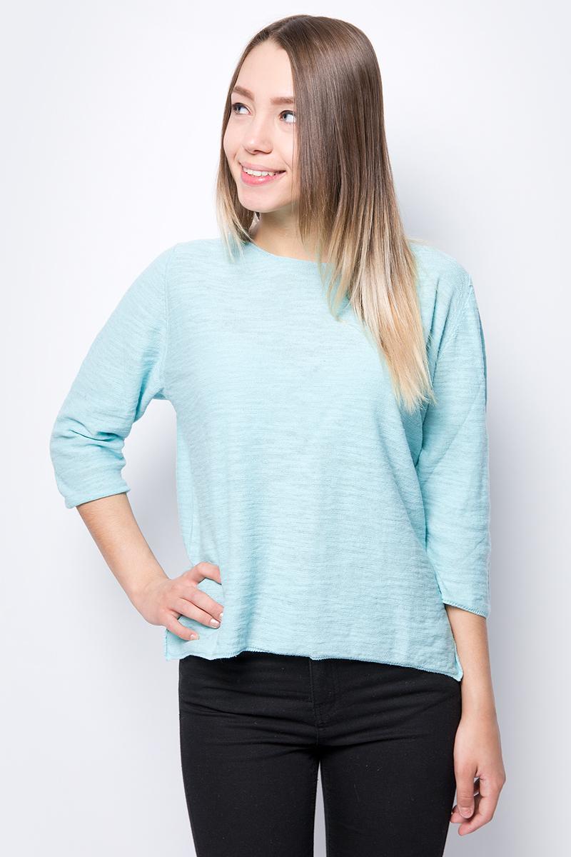 Кофта женская United Colors of Benetton, цвет: бирюзовый. 105GD1C66_0N5. Размер XS (40/42) цена 2017