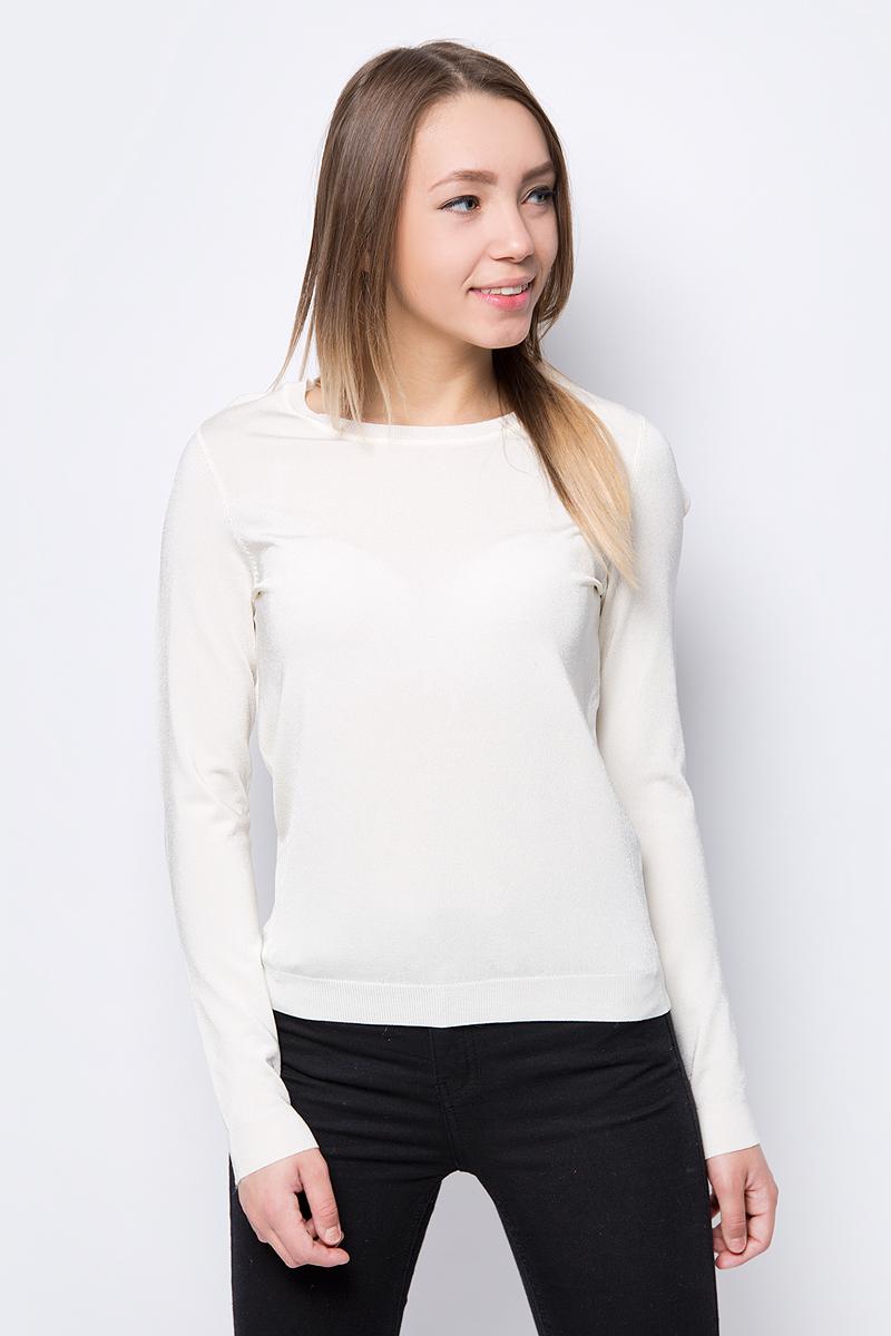 Джемпер женский Vero Moda, цвет: молочный. 10189334. Размер M (44) платье vero moda цвет черный 10188396 black размер 44 46