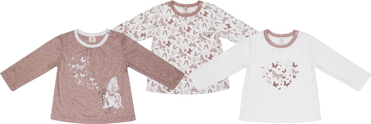 Лонгслив для девочки Lucky Child Дюймовочка, цвет: бежевый, 3 шт. 37-12. Размер 86/9237-12Элегантные футболки с длинным рукавом из коллекции Дюймовочка способны украсить гардероб любой маленькой девочки. Нежные цвета и изящные рисунки, высочайшее качество исполнения – это то, за что вы точно полюбите каждую из этих футболок. Стоит также отметить наличие кнопок на плечах, которые позволяют одевать и снимать футболки без лишних неудобств.