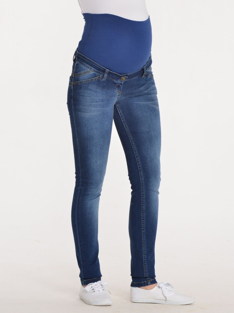 Джинсы для беременных BuduMamoy, цвет: синий. IN BR 753-2 J 591 LH. Размер 44-170