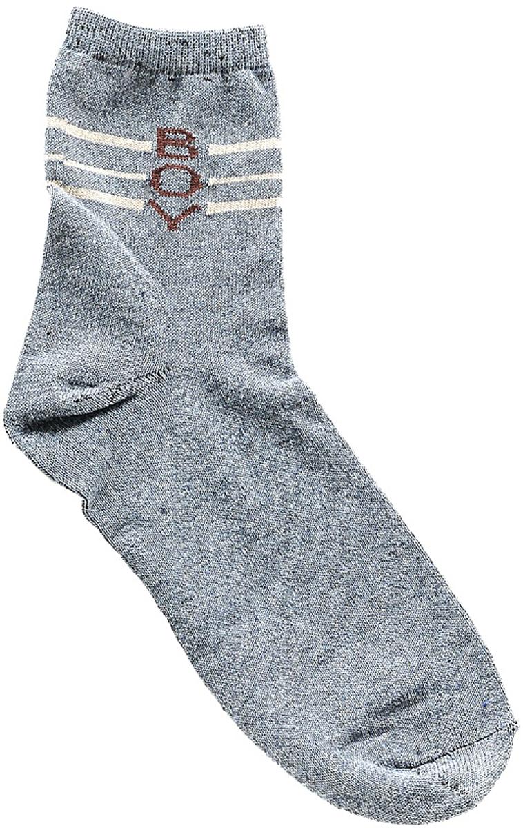 Носки детские Bio-Textiles, цвет: серый. T115-1. Размер 34/40