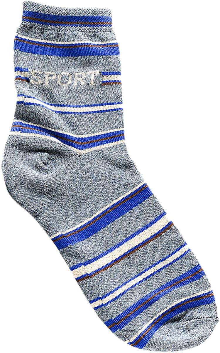Носки детские Bio-Textiles, цвет: серый. T116-1. Размер 34/40