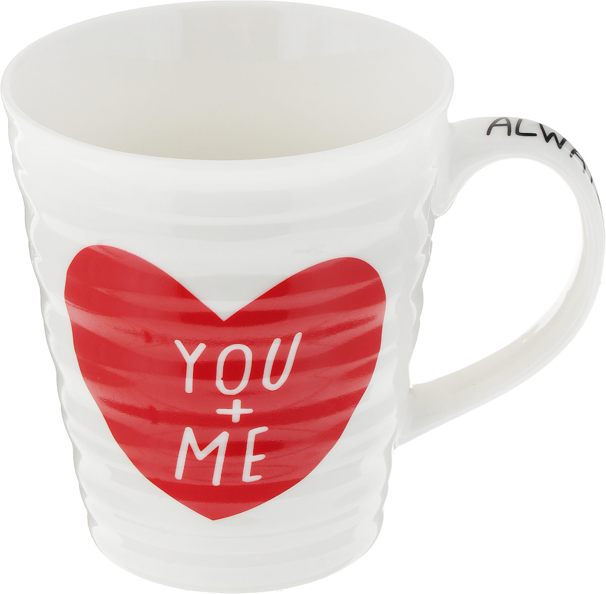 Кружка МФК-профит You+Me, 340 млMFK07443Кружка You+Me 340 млКружка You+Me 340 мл