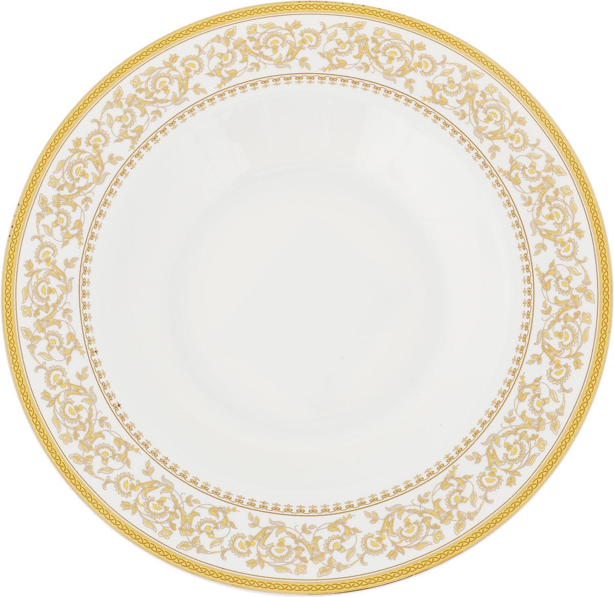 Тарелка суповая МФК-профит Империя, диаметр 21,5 см империя бокаччо в иркутске
