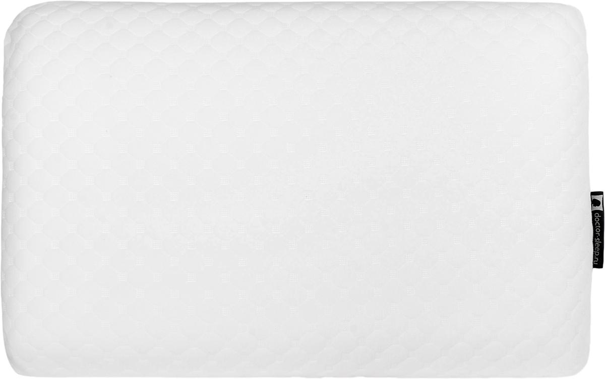 Подушка ортопедическая Doctor Sleep Unica, с памятью формы, наполнитель: пенополиуретан, цвет: белый, 40 x 60 см (S)4650075040669Подушка UNICA поистине уникальнаUNICA обладает великолепными комфортными свойствами и превосходной ортопедической поддержкой благодаря уникальной формуле состава подушки, разработанной с учетом того, чтобы UNICA идеально поддерживала голову человека (которая весит 3,5 – 4,2 кг), а также более легкую шею, не оказывая никакого ответного давления. Благодаря инновационному составу не требует специальных валиков для поддержки шеи. UNICA сама подстраивается под анатомические изгибы головы и шеи. Удобна в использованииВ отличие от обычных подушек, UNICA не теряет свою форму и поддерживает голову в течение всей ночиНаполнитель: анатомическая пена с памятью формы doctor-sleep memoryЧехол: нежный трикотаж 100 % ПЭ, внутренний чехол 100% ПЭУпаковка: сумка с цветным вкладышемРазмеры:S 38см x 60см, высота 09 смM 38см x 60см, высота 11 смL 38см x 60см, высота 14 см