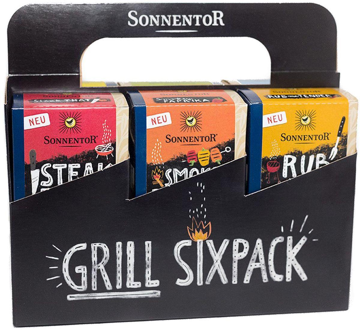 Sonnentor Набор специй для барбекю , 295 г набор для специй queen ruby цвет красный 2 предмета qr 8794