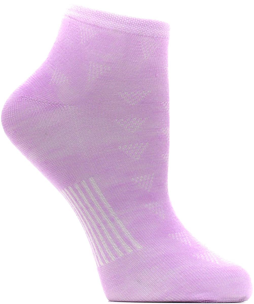 Носки женские Bio-Textiles, цвет: сиреневый. W014-2. Размер 35/41