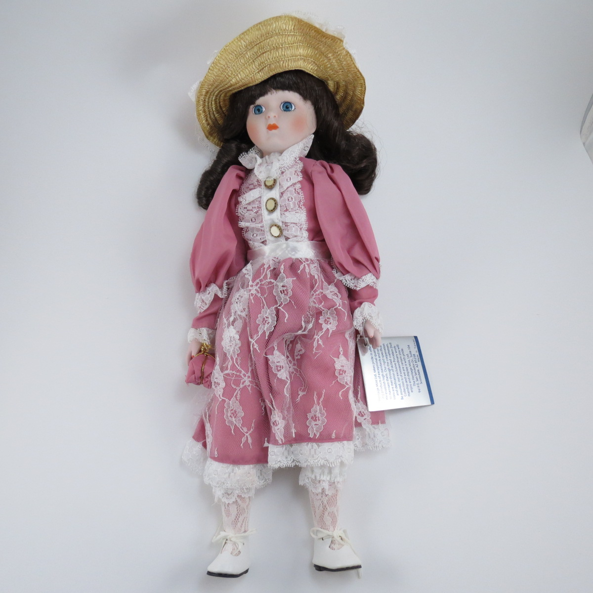Декоративная коллекционная кукла Наследие Американских Фарфоровых Кукол: Сюзетта. Фарфор, ручная работа. США, Heritage Mint. 1989 куклы и одежда для кукол madame alexander кукла фэнси нэнси русалочка 20 см