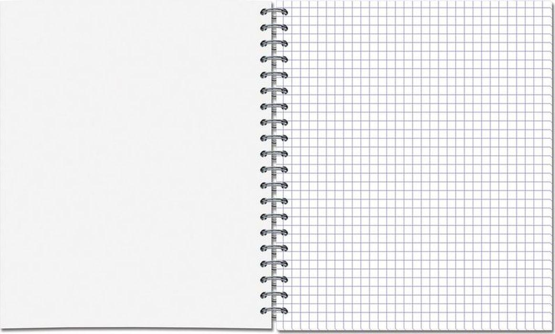 Тетрадь общая представлена вформате А5. Блок изготовлен изофсетной бумаги, состоит из60листов вклетку. Обложка выполнена измелованного картона. Дизайн обложки— «Носи усы». Общая тетрадь скреплена спомощью спирали.