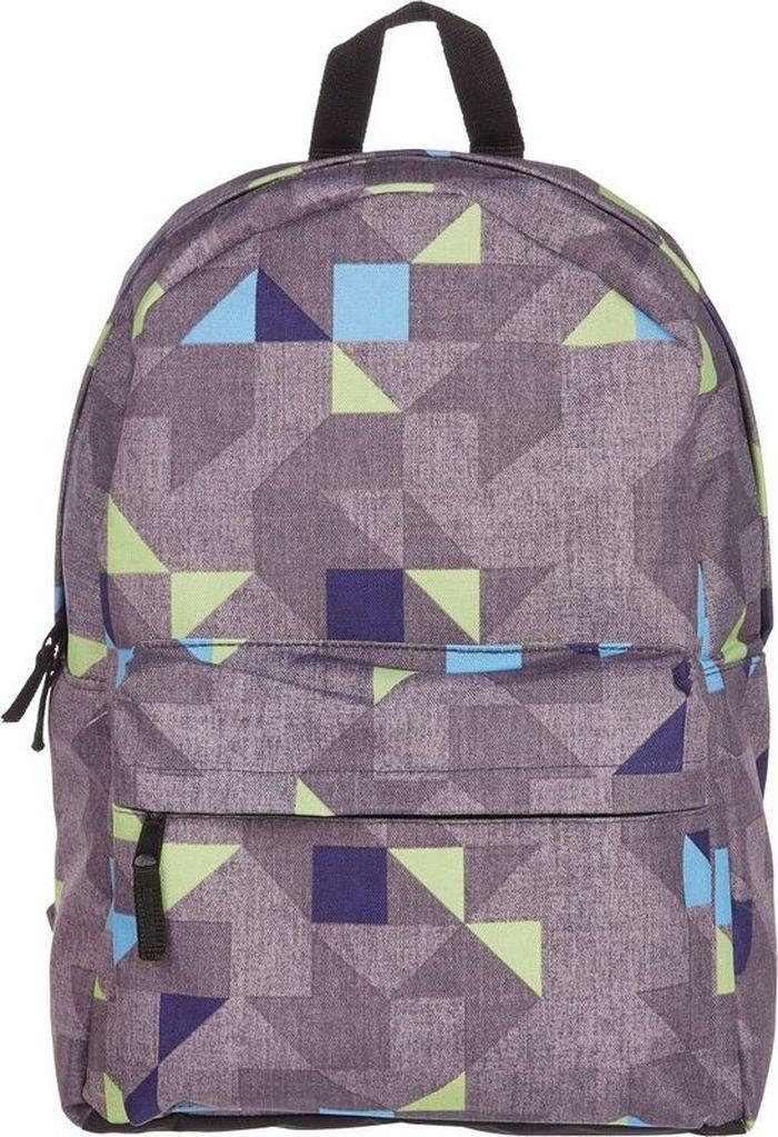№1 School Рюкзак молодежный Серые треугольники678898Молодежный рюкзак для парней и девушек, без наполнения. Практичный вместительный рюкзак с одним просторным отделением на двухсторонней молнии. Снаружи один Объемный пришивной карман на молнии. Имеет ручку, регулируемые мягкие плечевые лямки для комфортной посадки. Предназначен для учащихся средних и старших классов, а также для студентов. Размер изделия - 300х390х140 мм. Вес изделия - 300 г. Объем - 13 л.