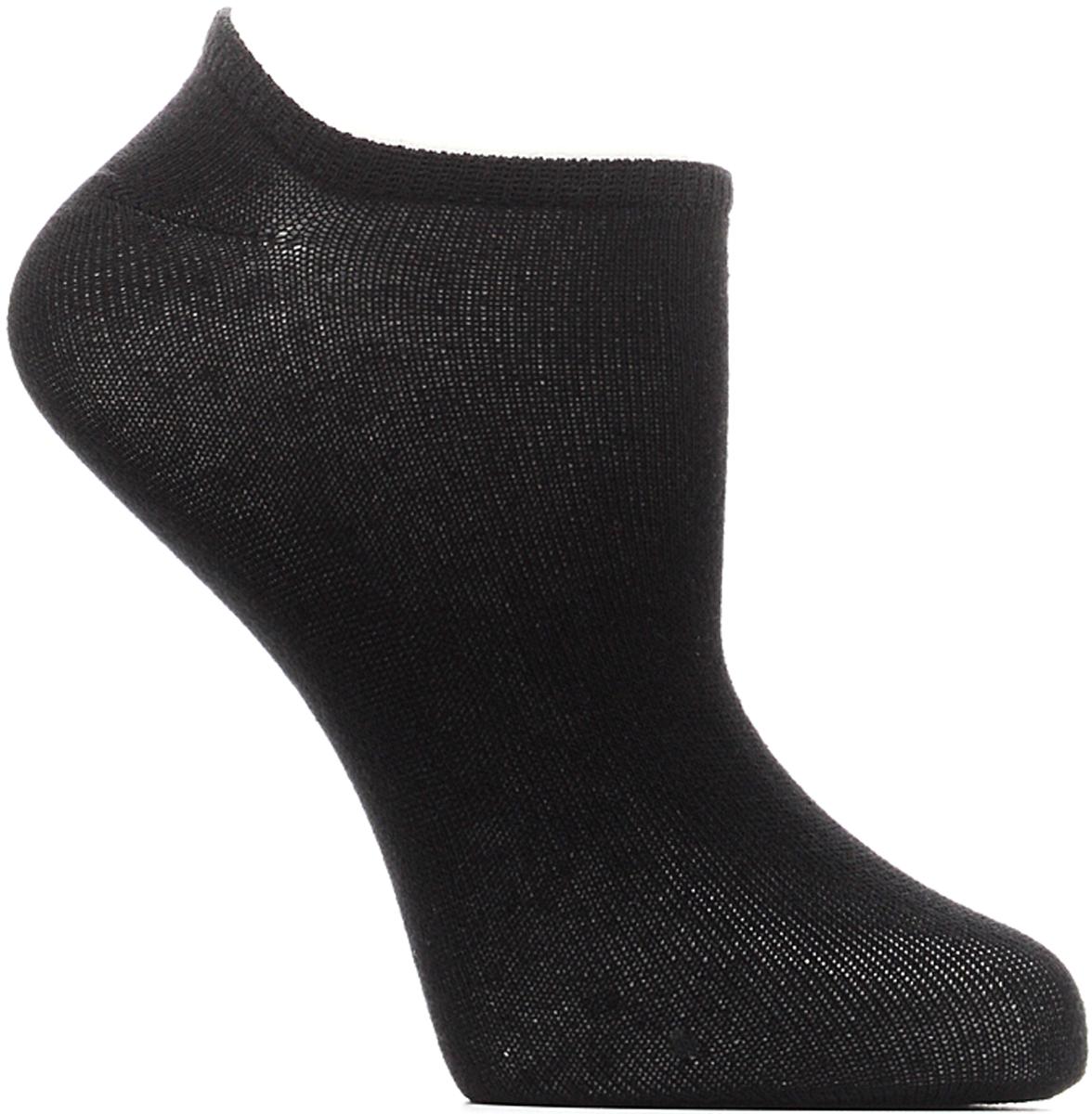 Носки женские Bio-Textiles, цвет: черный. W016. Размер 35/41