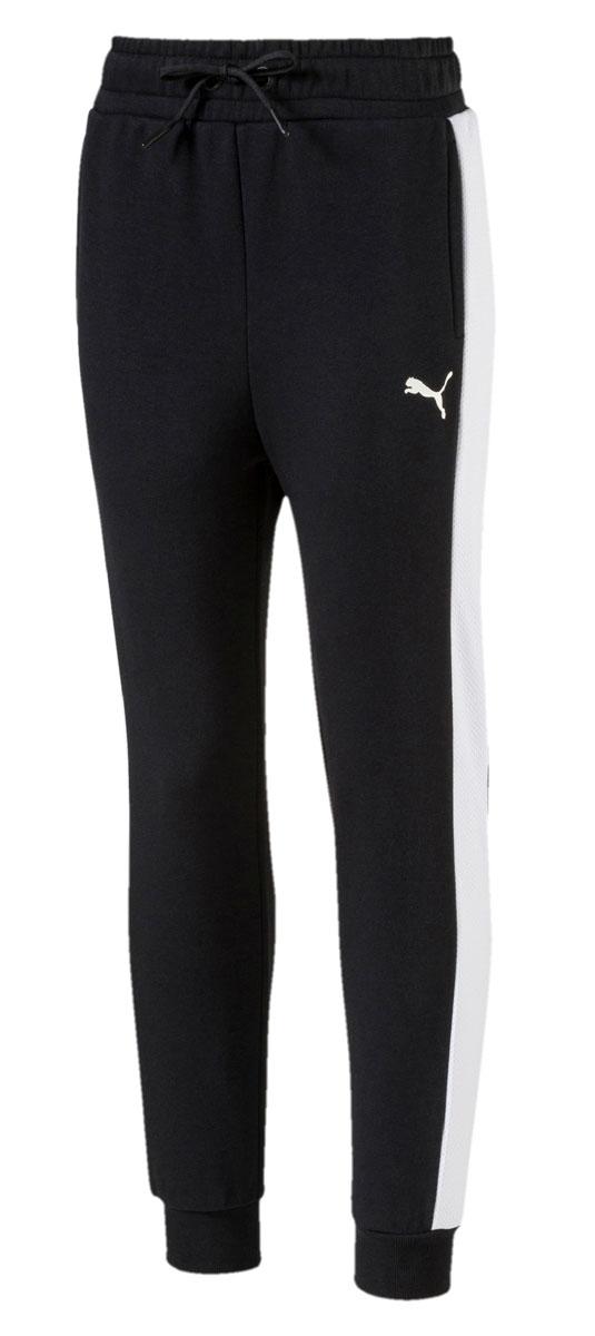 Брюки спортивные для девочки Puma Style Sweat Pants, цвет: черный. 594978017. Размер 164