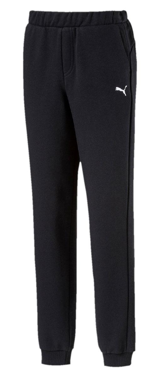 Брюки спортивные для мальчика Puma ESS Sweat Pants Closed Tr, цвет: черный. 591051017. Размер 152 полотенца банные puma полотенце puma tr towel