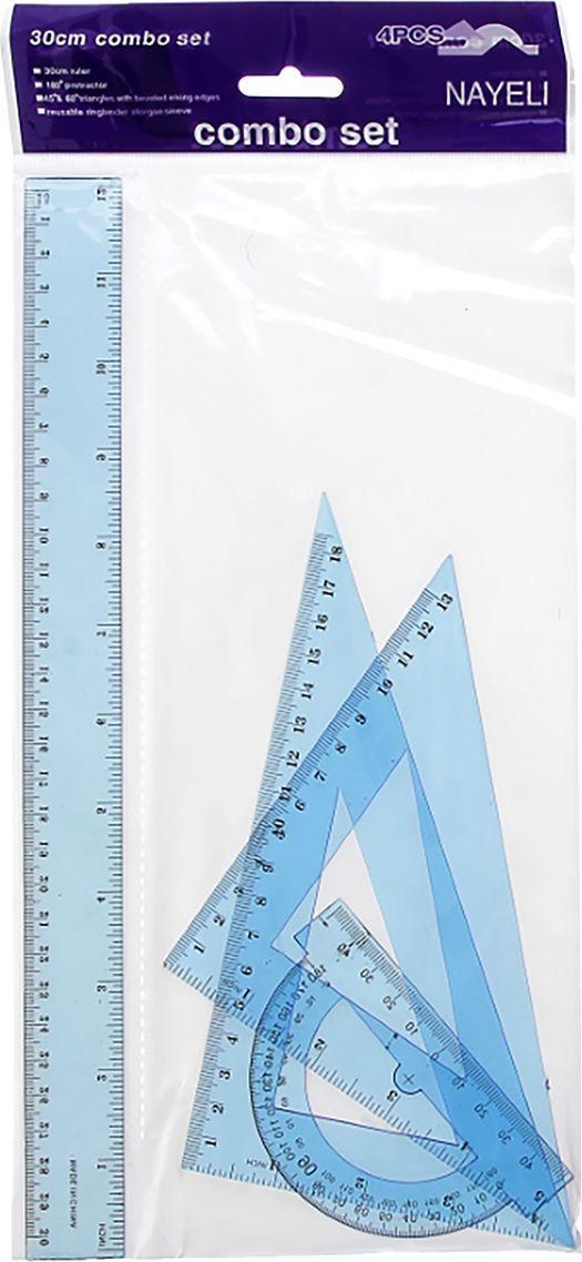 Геометрический набор цвет голубой 4 предмета 541271, NoName