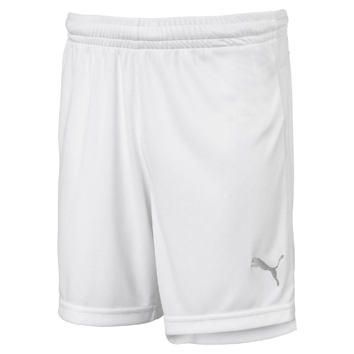 Шорты для мальчика Puma ftblNXT Shorts Jr, цвет: белый. 65557405. Размер 12865557405