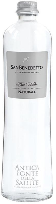 Сан Бенедетто Вода негазированная минеральная природная питьевая столовая, 0,65 л, стекло сан бенедетто вода негазированная минеральная природная питьевая столовая 1 л стекло
