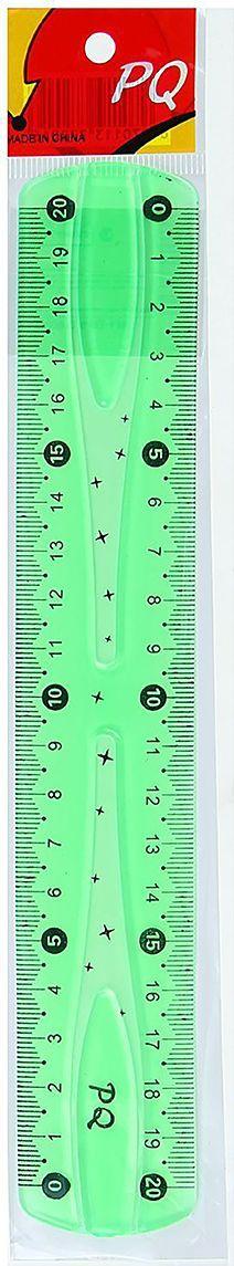 Линейка гибкая цвет зеленый 20 см 13020521302052Линейка — необходимый инструмент рабочего стола.Линейка может понадобиться при изучении любого школьного предмета. Провести прямую линию и начертить отрезок на уроке математики? Легко! Подчеркнуть подлежащее, сказуемое или деепричастный оборот в домашнем задании по русскому языку? Проще простого!Возможности применения этого приспособления широки: оно пригодится как на занятиях в учебном заведении, так и при выполнении работы дома, а также поспособствует развитию начальных навыков черчения!