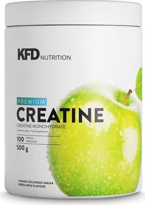 Креатин моногидрат KFD  Creatine , яблочно-вишневый, 500 г - Креатин