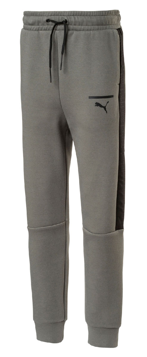 Брюки спортивные для мальчика Puma Pace Pants, цвет: серый. 850253397. Размер 164850253397