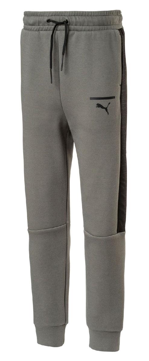Брюки спортивные для мальчика Puma Pace Pants, цвет: серый. 850253397. Размер 164 original new arrival 2018 puma pace primary fz hoody men s jacket sportswear