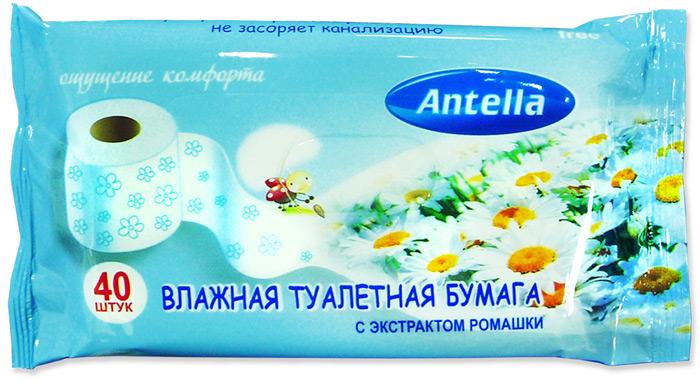 Влажная туалетная бумага содержит экстракт ромашки, который оказывает противовоспалительное и смягчающее действие. Не содержит спирт, рН- нейтральный. Создает ощущение свежести и чистоты.