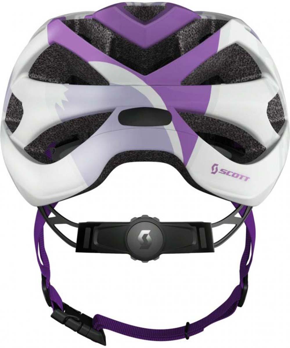 SCOTT Spunto - это детский велосипедный шлем со всеми особенностями взрослого.  Легко регулируемая система крепления RAS гарантирует, что шлем остается правильно расположенным на голове вашего ребенка, обеспечивая требуемую безопасность.  Съемный козырек и улучшенная защита затылка делают - идеальный выбор для вашего ребенка.