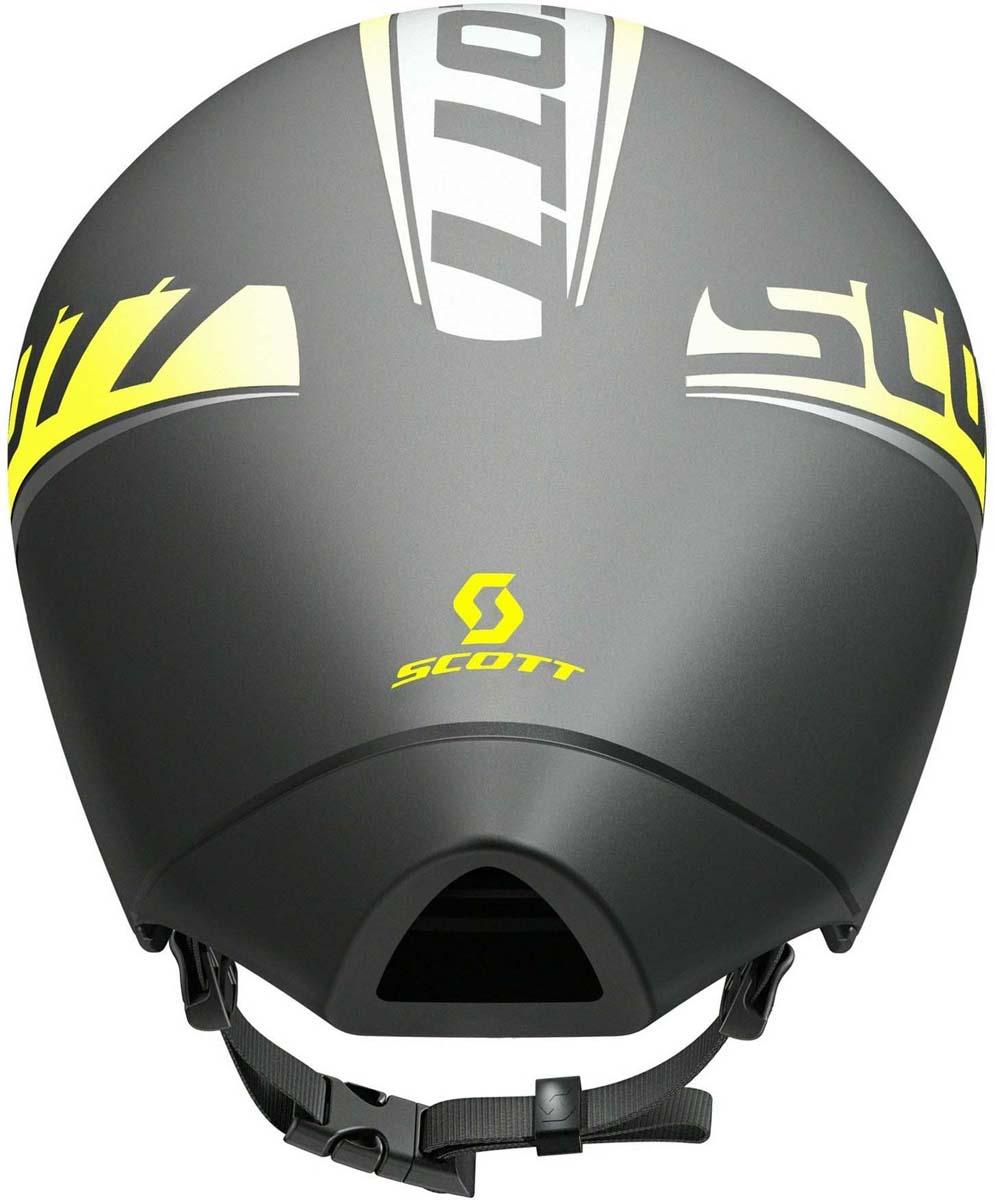 Аэродинамический шлем SCOTT Split в виде капли воды режет воздух с минимальным сопротивлением во время гонки с раздельным стартом или велосипедного этапа на триатлоне. Разработанный в тесном сотрудничестве с профессиональными командами протура Orice-Greenedge и IAM этот шлем прошел многочисленные испытания в аэродинамической трубе. Оптимизированная форма шлема обеспечивает лучшую в классе аэродинамику, сохраняя оптимальный комфорт и хорошую вентиляцию. Если вы хотите максимум скорости с минимум затраченной мощности, SPLIT - ваш выбор.  Особенности: - Оптимизированная аэродинамика шлема. - Оптимальная вентиляция и комфорт. - Регулируемые ремешки. - Опционально: оптическая линза SCOTT SPLIT Shield.  Конструкция: - In-Mold Technology (прессованный материал) - PC Micro Shell (пластиковая защита). Система фиксации: MRAS. Вес: 380 г. (Размер М).