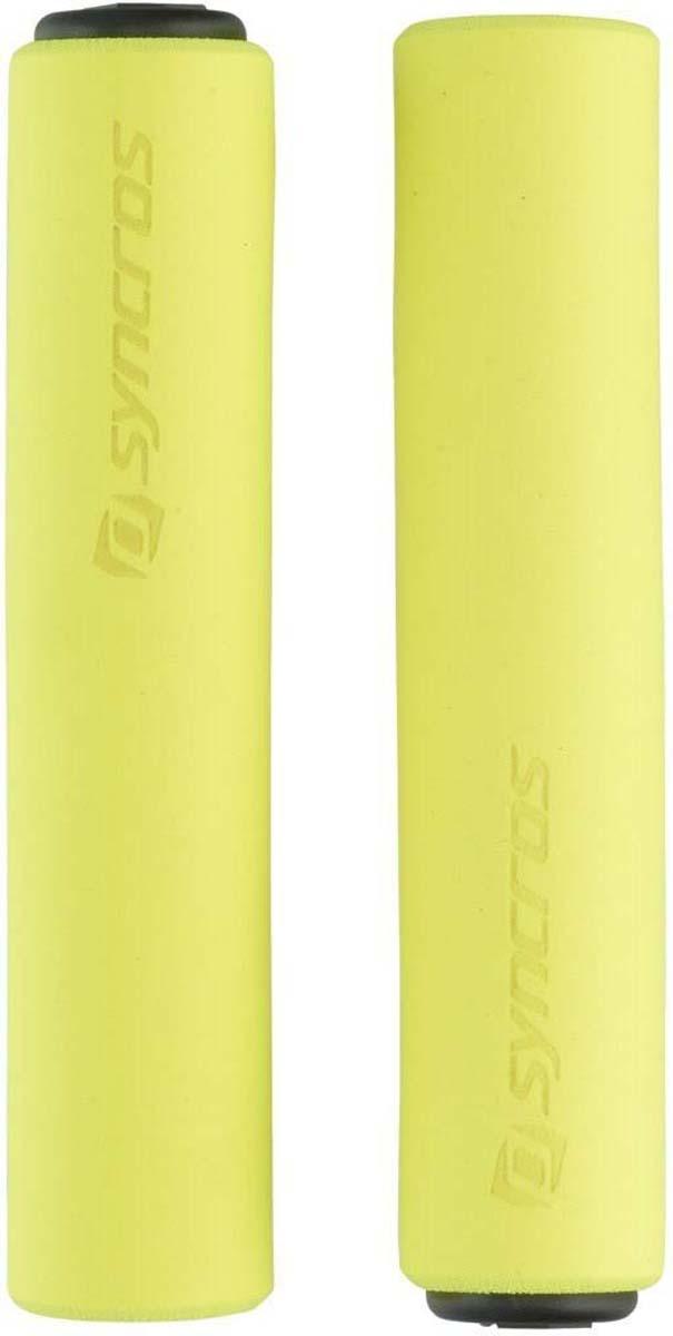 Грипсы Syncros Silicone, цвет: неоновый желтый234805-2658Комфортные грипсы Syncros Silicone (неоновый оранжевый) для маунтинбайка и дорожных велосипедов с прямым рулем. Выполнены из силикона с противоскользящей поверхностью. Материал безопасен для карбоновых рулей. Множество вариантов расцветок. - Удобный хват. - Плотно держатся на руле. - Специальный силиконовый материал. - Противоскользящая поверхность. - Безопасны для карбоновых рулей.