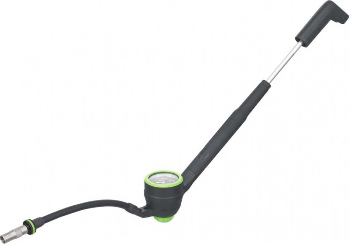 Насос высокого давления с механическим манометром Shock Pump Syncros SP2.0 (черный) ,будет отличным выбором для накачки вилок и амортизаторов в домашних условиях. Настройка подвески теперь проста, как никогда раньше.  Особенности Shock Pump Syncros SP2.0: - Алюминиевый корпус рабочей камеры. - Композитная ручка.