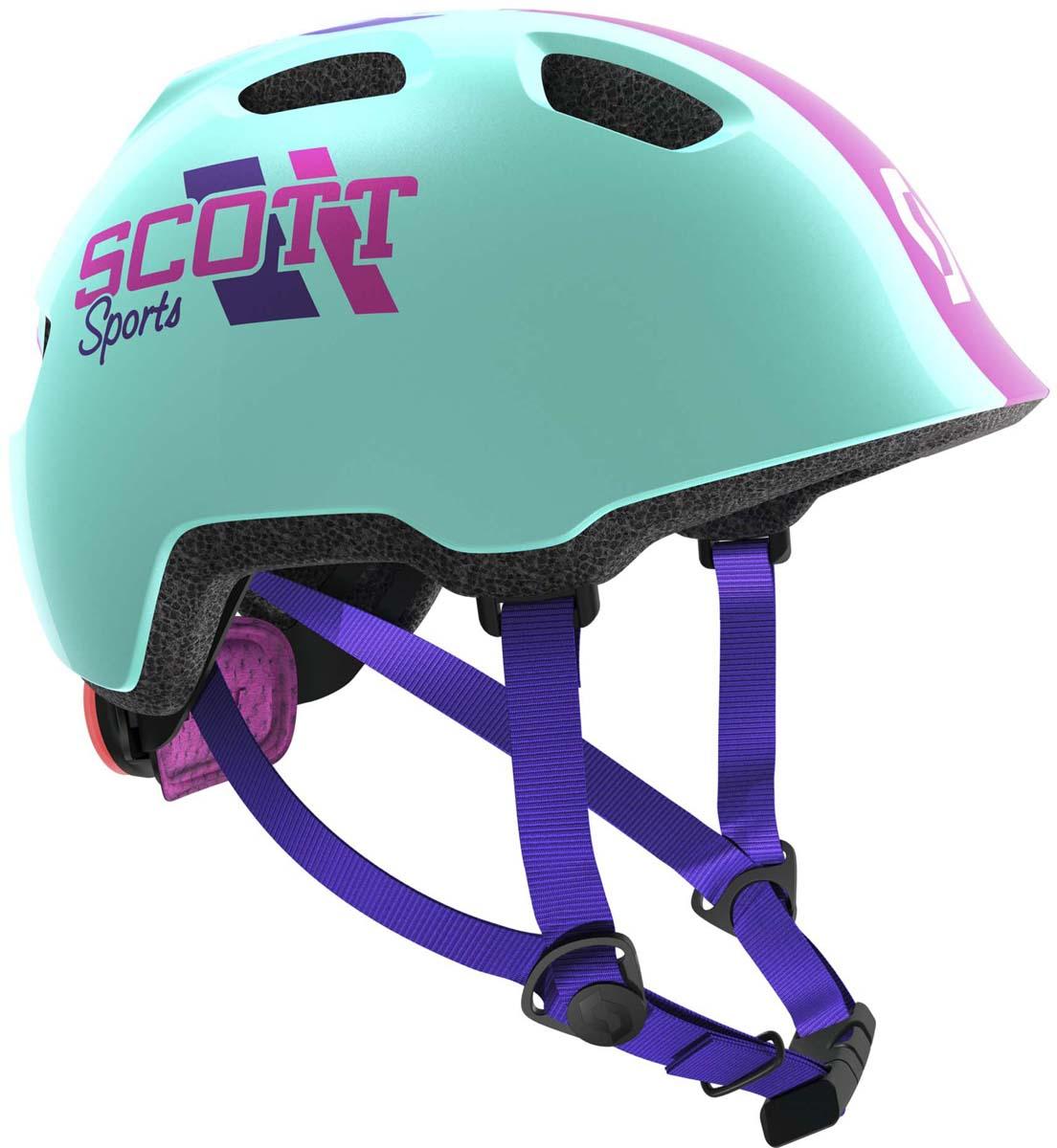Шлем защитный Scott Chomp 2, цвет: синий. Размер 46-52241263-0003Главной особенностью нового детского шлема Scott Chomp 2 является повышенный уровень безопасности (пассивной и активной) и дополнительный комфорт. Задний мигающий фонарь позволит обезопасить ребенка в сумерках, передние рефлекторы ярко отражают встречный свет. Дополнительный мягкий материал для охвата головы и более комфортная система уплотнений вместе сделают все возможное для максимально безопасного катания на велосипеде. Добавьте к этому яркие и веселые расцветки, низкий профиль задней части для поездок в специальном детском сиденье, легко регулируемую систему подгонки RAS2 и вы получите превосходный детский шлем по очень привлекательной цене.Особенности Scott Chomp 2: - технология In-Mold (прессованный пенопласт, амортизирующий удар); - технология PC Micro Shell (поликарбонат); - система подгонки RAS2; - задний мигающий фонарь; - светоотражающие наклейки спереди; - дополнительная защита головы; - вес 230 г (примерный); - размеры: один размер; - для окружности головы 46-52 см; - в среднем, для возраста от 3 до 9 лет.