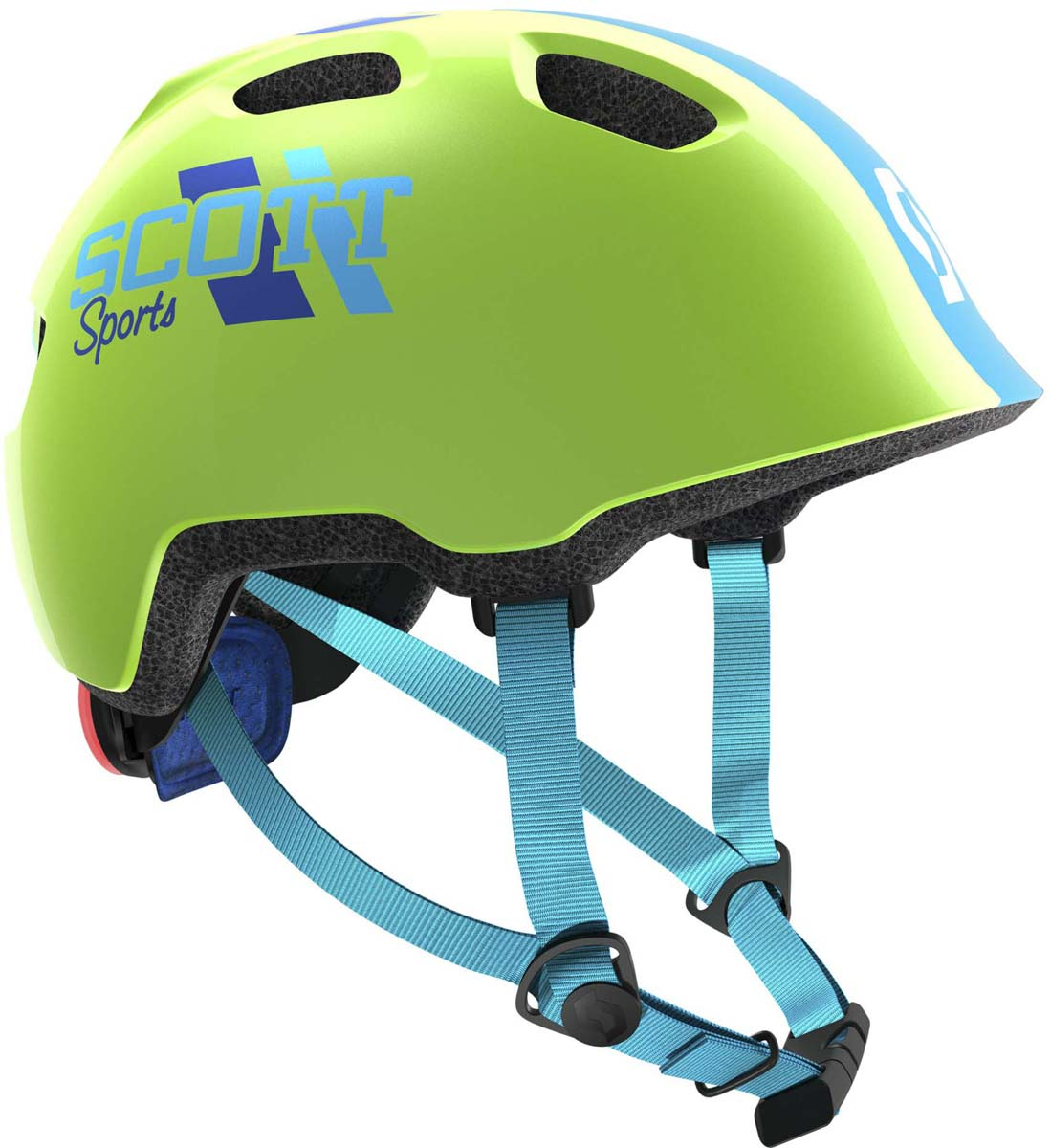 Шлем защитный Scott Chomp 2, цвет: зеленый. Размер 46-52241263-0006Главной особенностью нового детского шлема Scott Chomp 2 является повышенный уровень безопасности (пассивной и активной) и дополнительный комфорт. Задний мигающий фонарь позволит обезопасить ребенка в сумерках, передние рефлекторы ярко отражают встречный свет. Дополнительный мягкий материал для охвата головы и более комфортная система уплотнений вместе сделают все возможное для максимально безопасного катания на велосипеде. Добавьте к этому яркие и веселые расцветки, низкий профиль задней части для поездок в специальном детском сиденье, легко регулируемую систему подгонки RAS2 и вы получите превосходный детский шлем по очень привлекательной цене.Особенности Scott Chomp 2: - технология In-Mold (прессованный пенопласт, амортизирующий удар); - технология PC Micro Shell (поликарбонат); - система подгонки RAS2; - задний мигающий фонарь; - светоотражающие наклейки спереди; - дополнительная защита головы; - вес 230 г (примерный); - размеры: один размер; - для окружности головы 46-52 см; - в среднем, для возраста от 3 до 9 лет.