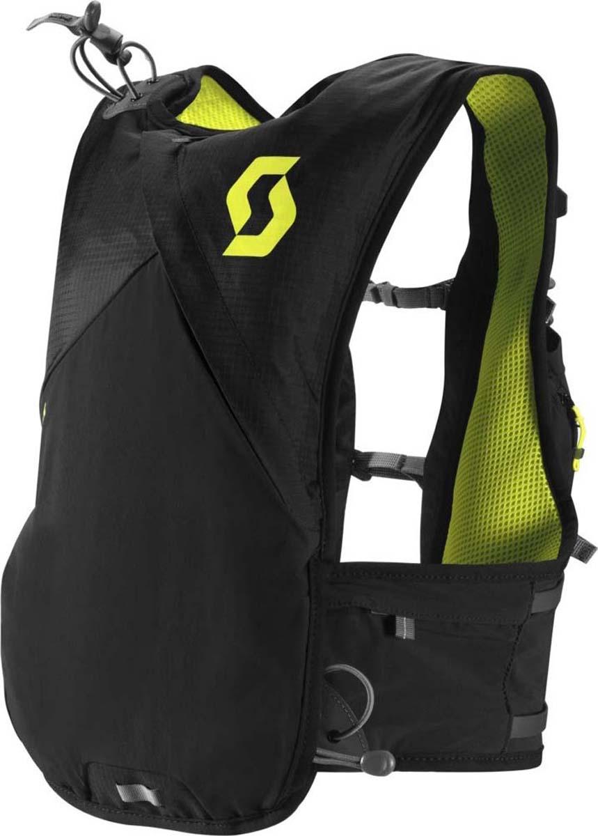 Велорюкзак Scott Trail Pro TR 6, цвет: черный, серо-желтый241611-5017Велорюкзак Scott Trail Pro TR 6 (черно-желтый) идеален для быстрых бегунов, стремящихся максимально выкладываться на тренировках, которым важен минимальный вес и широкий функционал рюкзака. Новая система подгона посадки рюкзака на спине позволит вам адаптировать рюкзак к вашей комплекции. Два гидропака по 250 мл с держателями поилок на лямках позволят вам иметь с собой запас воды и не испытывать жажды. Различные карманы предусмотрены для того, чтобы у вас с собой было все необходимое на любом, даже самом сложном трейле.Особенности велорюкзака SCOTT Trail Pro TR 6: - 3D система отвода пота со спины. - Два гидропака по 250 мл с отдельными поилками. - Крепеж поилок на лямках. - Сетчатые карманы на груди. - Нижние карманы на замке-молнии. - Поясная фиксация. - Светоотражающий логотип. - Держатель для ключей. - Размеры: (ВхШхГ) 40 х 25 х 6 см.