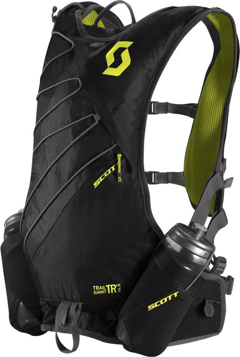 Велорюкзак Scott Trail Summit TR 16, цвет: черный, серо-желтый241612-5017Велорюкзак Scott Trail Pro TR 16 (черно-желтый) идеален для быстрых бегунов, стремящихся максимально выкладываться на тренировках, которым важен минимальный вес и широкий функционал рюкзака. Новая система подгона посадки рюкзака на спине позволит вам адаптировать рюкзак к вашей комплекции. Особенности велорюкзака SCOTT Trail Pro TR 16: - 3D система отвода пота со спины. - Крепеж поилок на лямках. - Сетчатые карманы на груди. - Нижние карманы на замке-молнии. - Поясная фиксация. - Светоотражающий логотип. - Держатель для ключей.