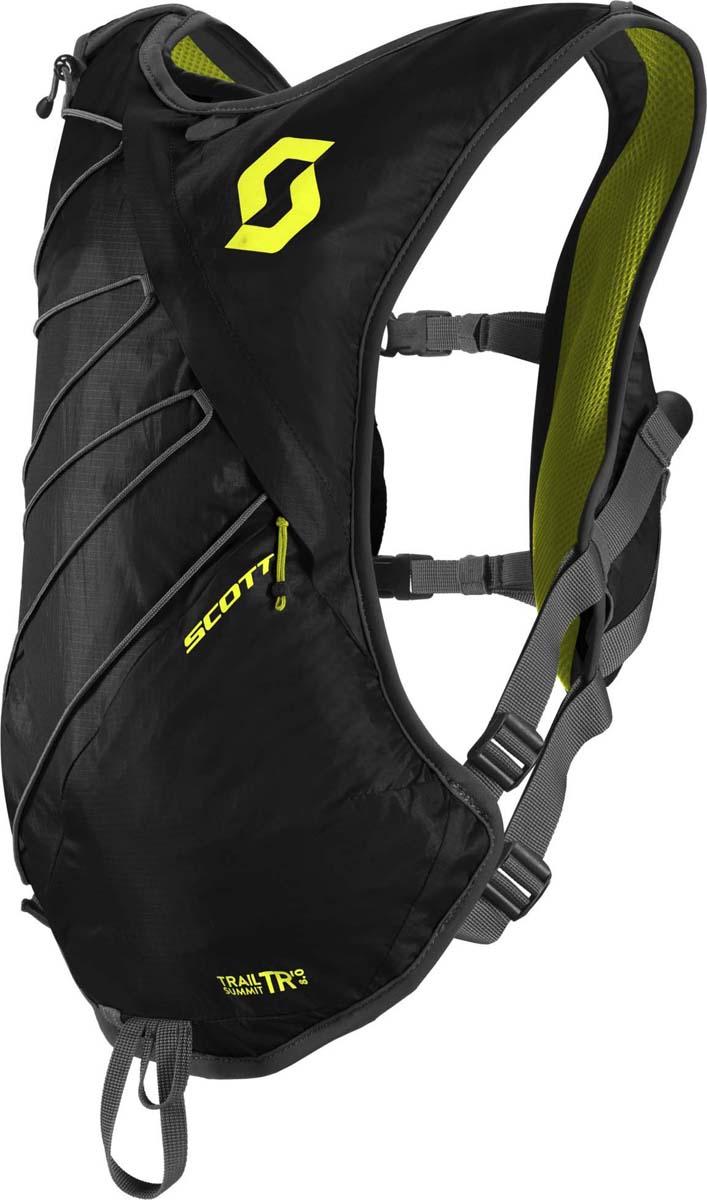 Велорюкзак Scott Trail Summit TR 8, цвет: черный, серо-желтый241613-5017Компактный велорюкзак Scott Trail Summit TR 8 (красный) особенно удобен для быстрых подъемов и трасс средней или малой протяженности и представляет собой уменьшенную версию Scott Trail Summit TR 16. Система фиксации на спине и на груди обеспечит идеально удобное ношение рюкзака. Новая система вентиляции сохранит вашу спину в комфорте на протяжении всего времени катания. Так же отлично подойдет для бега.Особенности: - Эластичные сетчатые нагрудные карманы. - Карман для мобильного телефона спереди. - Передний карман для бутылки. - Поясная фиксация. - Держалка для ключей. - Клипса для крепления заднего фонаря. - Петля для солнцезащитных очков. - Размеры: (ВхШхГ) 45 х 28 х 8 см.