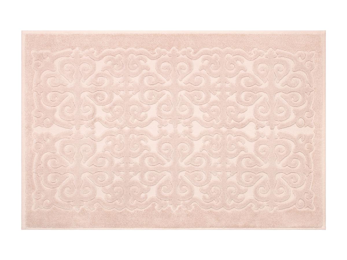 Коврик для ванной Estia Перла, цвет: светло-розовый, 60 x 90 см