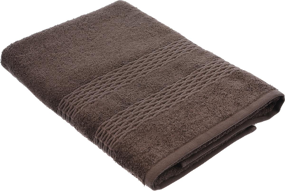 Полотенце Estia Филоменто, цвет: коричневый, 70 х 140 см99.54.50.0055ФИЛОМЕНТО Полотенце коричневый, 70х140, 1 предмет, 100% хлопок, 450 гр/м2