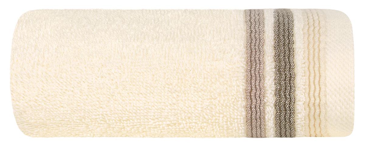 """Полотенце """"Эспозито"""" выполнено из 100% хлопка. Изделие отлично впитывает влагу, быстро сохнет, сохраняет яркость цвета и не теряет форму даже после многократных стирок. Полотенце очень практично и неприхотливо в уходе. Оно создаст прекрасное настроение и украсит интерьер в ванной комнате."""