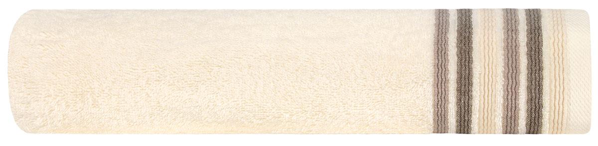 Полотенце Estia Эспозито, цвет: экрю, 70 х 140 см99.54.50.0058Полотенце Эспозито выполнено из 100% хлопка. Изделие отлично впитывает влагу, быстро сохнет, сохраняет яркость цвета и не теряет форму даже после многократных стирок. Полотенце очень практично и неприхотливо в уходе. Оно создаст прекрасное настроение и украсит интерьер в ванной комнате.r>
