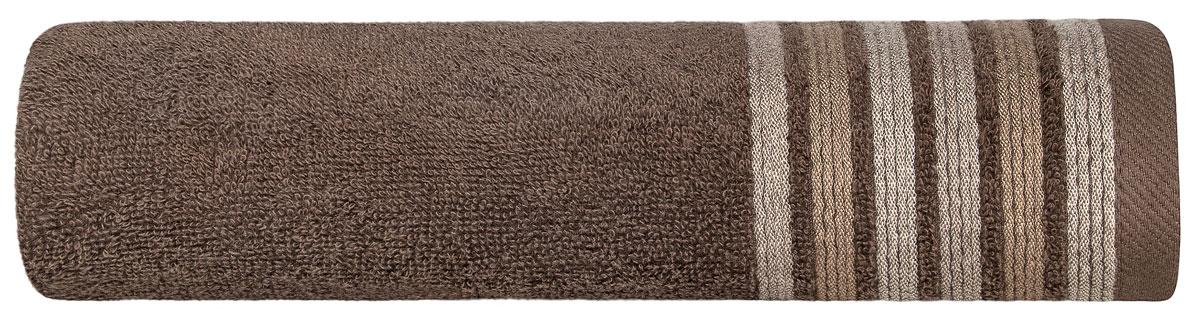 ЭСПОЗИТО Полотенце коричневый, 50х100, 100% хлопок, 480 гр/м2, 1 предмет