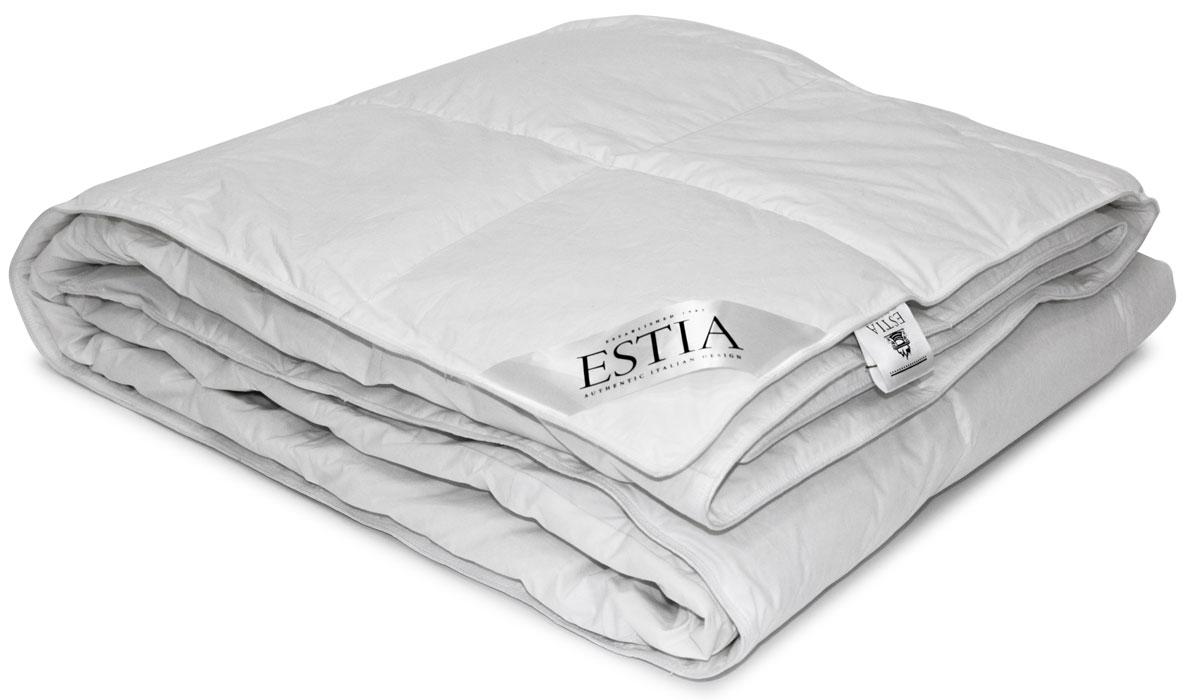 Одеяло легкое Estia  Аоста , наполнитель: пух, 140 х 200 см -  Одеяла