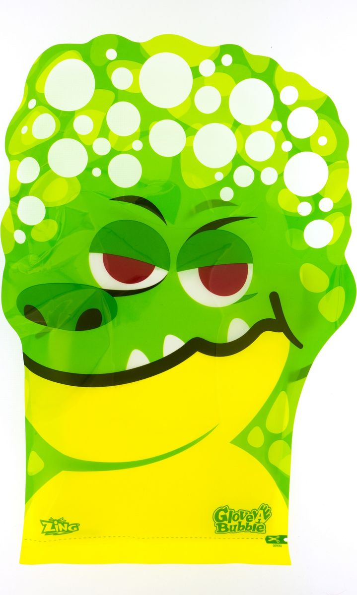 Glove-A-Bubbles Мыльные пузыри Крокодил