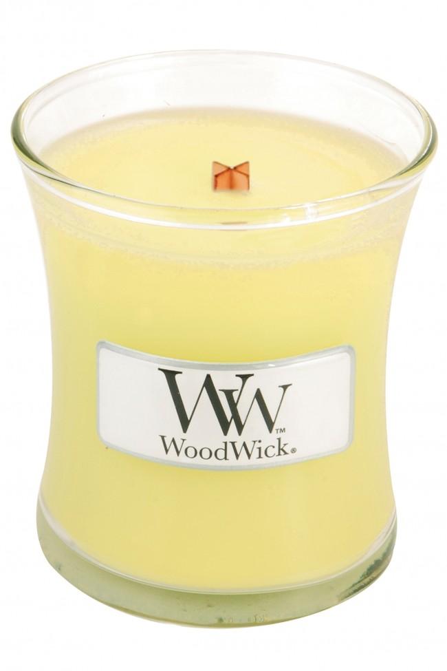 Свеча ароматизированная WoodWick Жасмин, высота 6 см свеча ароматизированная woodwick гранат высота 6 см