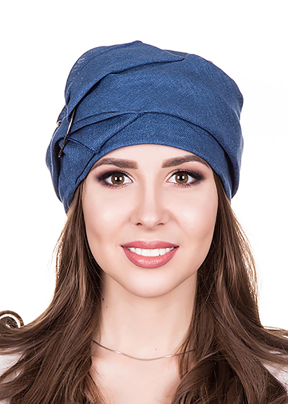 Бандана женская Level Pro Прада, цвет: синий. 412620. Размер 56/58 бандана 4fun 4fun thermal pro wolf blue синий